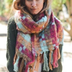 MUST HAVE AUTUMN Multicolor scarf